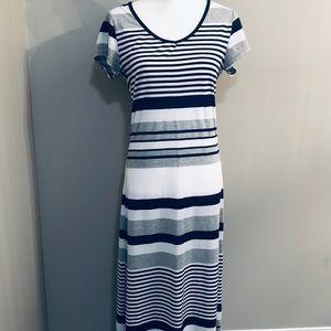 Just Love Long Maxi Striped Dress